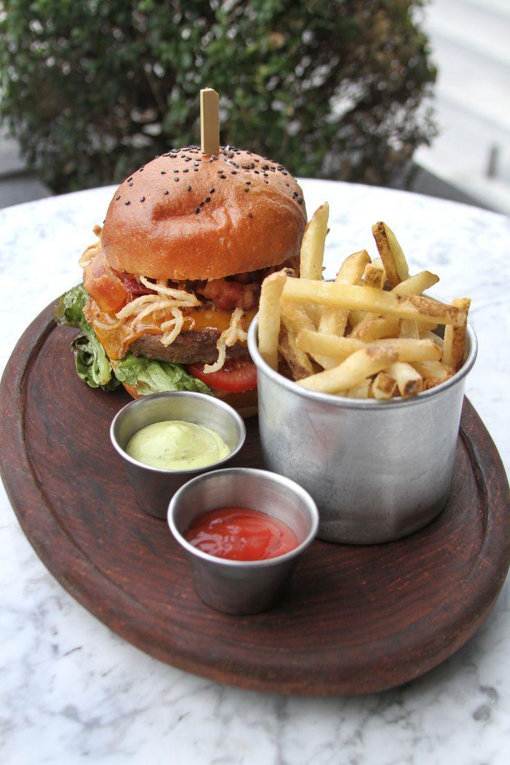 Hamburguesa yankee (Pan Tomate)