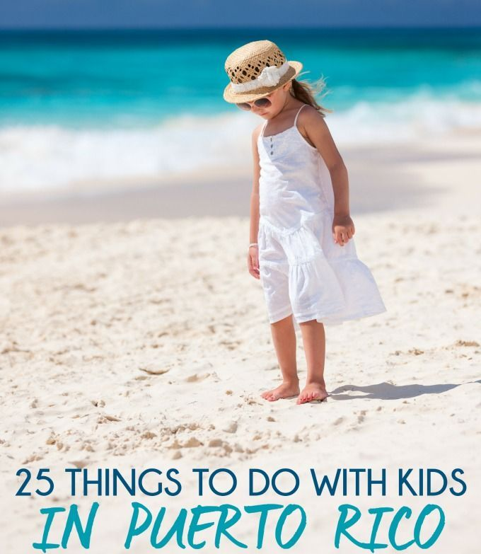 This list of 25 things to do in Puerto Rico with kids just made me realize we need to plan a family vacation in Puerto Rico!