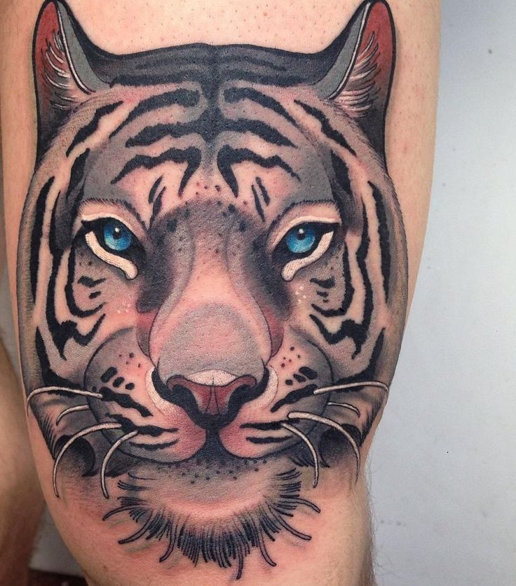 Tiger tattoo (2) | tattoo ideas | Tiger tattoo, Tiger ...