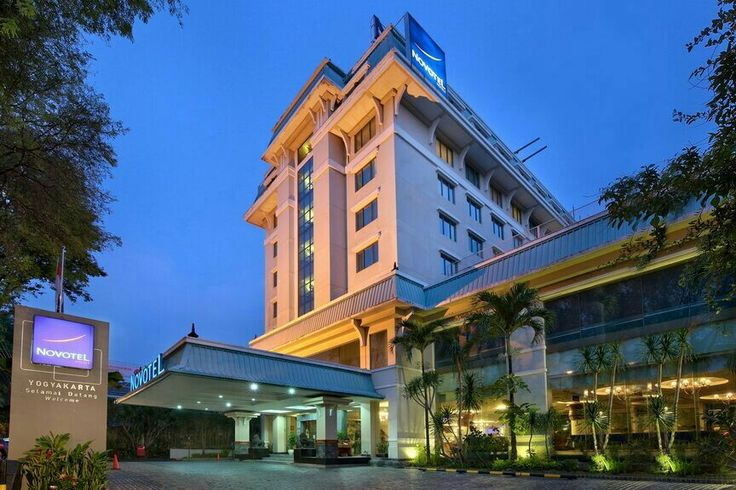 Our Novotel Yogyakarta in the evening. We wish you have a pleasant staying at our hotel.