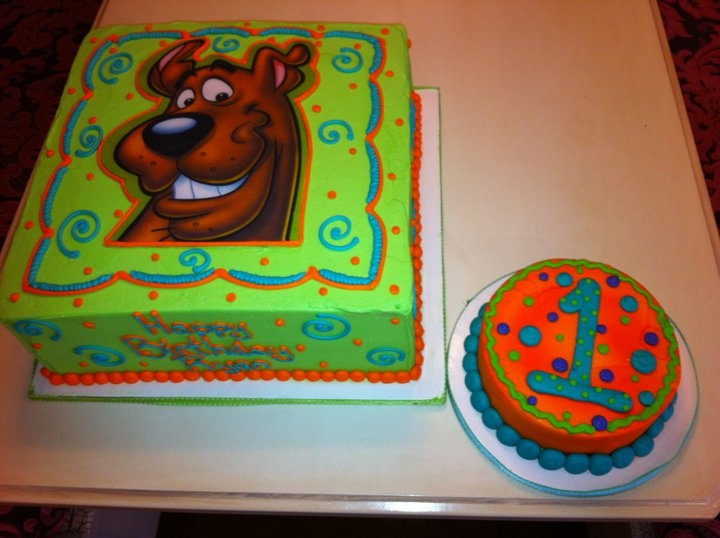 Scooby Doo birthday cake by Cake & All Things Yummy, Kernersville, NC