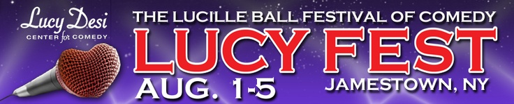 Comedy Festival Lucy Fest.... I WILL go to this one day!!!