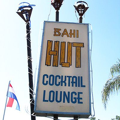 In Sarasota, Florida, Bahi Hut gives you the chance to step into a 1960s-vintage world and order the original-recipe mai tai.