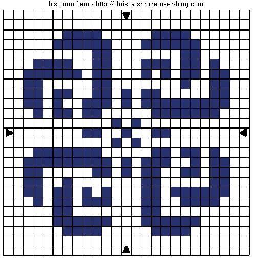 Knitting Chart No Stitch : Free biscornu cross stitch patterns no color chart