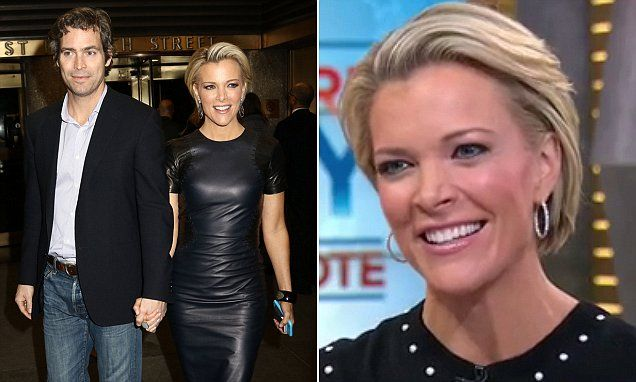 Megyn Kelly's star continues to rise as the popular television personality has just landed a major book deal ann seemed to be celebrating with her husband Douglas Burnt on Thursday.