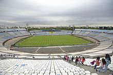Estadio Centenario, the location of the first World Cup final in 1930 in Montevideo, Uruguay