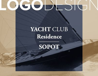 "Check out new work on my @Behance portfolio: ""Logo design Yacht Club Residence SOPOT"" http://on.be.net/1IoJv3b"