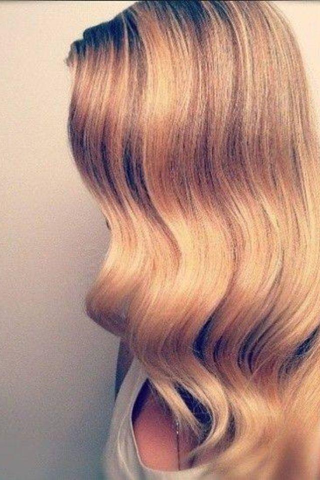 finger waves Hair