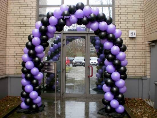 Ballonbogen, Ballontor, Ballondurchgang zur Event Deko