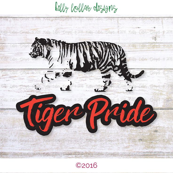 tiger pride clip art - photo #34