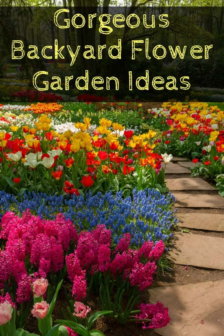 Gorgeous flower gardens that will transform your backyard here youll find easy tips and ideas for creating beautiful flower gardens raised beds and izmirmasajfo