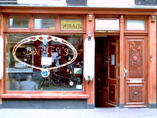 """Barney's serves up their famous breakfast, when you;re dying for a full English after having too many """"Continental"""" breakfasts. The place is also a coffeeshop."""