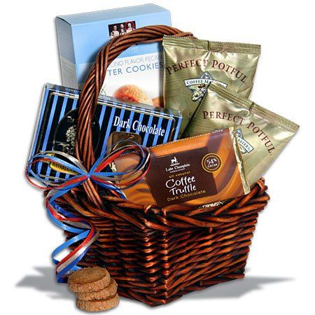 Coffee Break æMiniÆ Gift Basket™ - http://mygourmetgifts.com/coffee-break-aeminiae-gift-basket/