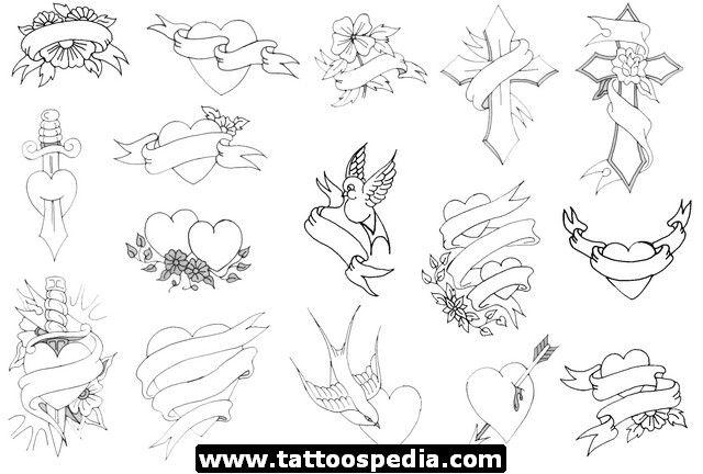 Sizzling image regarding free printable tattoo flash sheets