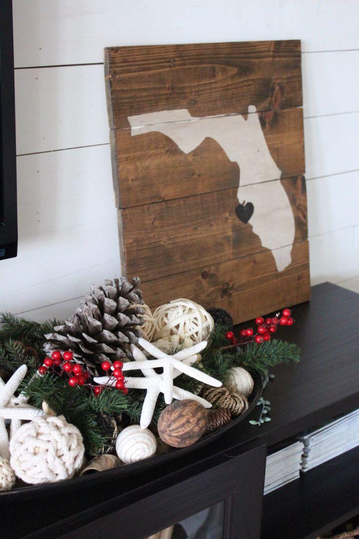 Coastal christmas decor - Christmas In The Family Room 2016 Starfish Cottage Coastal Christmaschristmas Decorchristmas