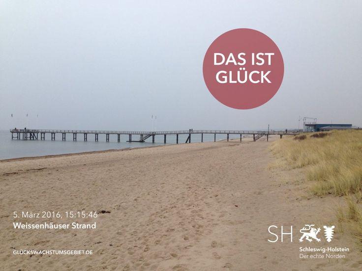 Das ist Glück: Weissenhäuser Strand an der Ostsee #travelapp #schleswigholstein #dasistglück #glückswachstumsgebiet #reiseblog #travel #DerEchteNorden