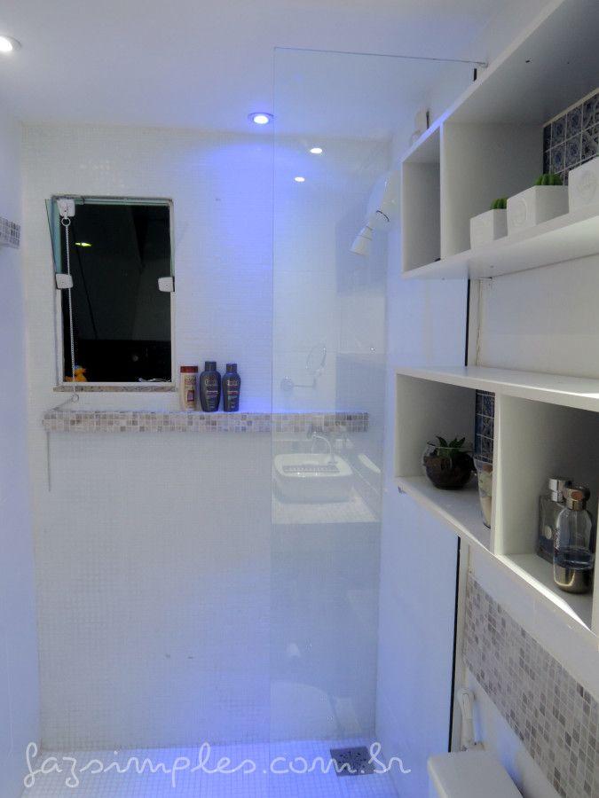 25+ melhores ideias sobre Pastilhas De Vidro no Pinterest  Decoração banheir -> Banheiro Com Pastilha De Vidro Espelhada