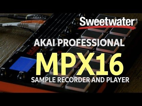 Akai Professional MPX16 Sample Recorder and Player | Sweetwater