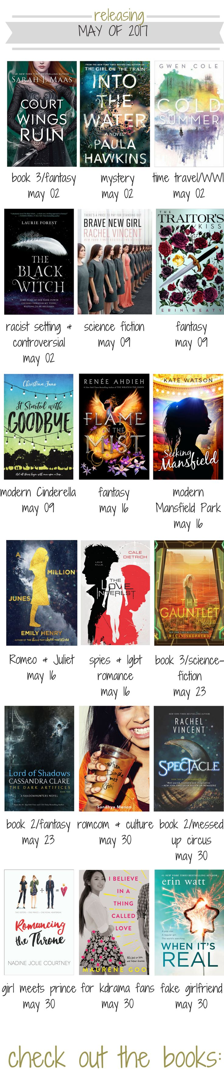 May 2017 Books To Keep An Eye Out For