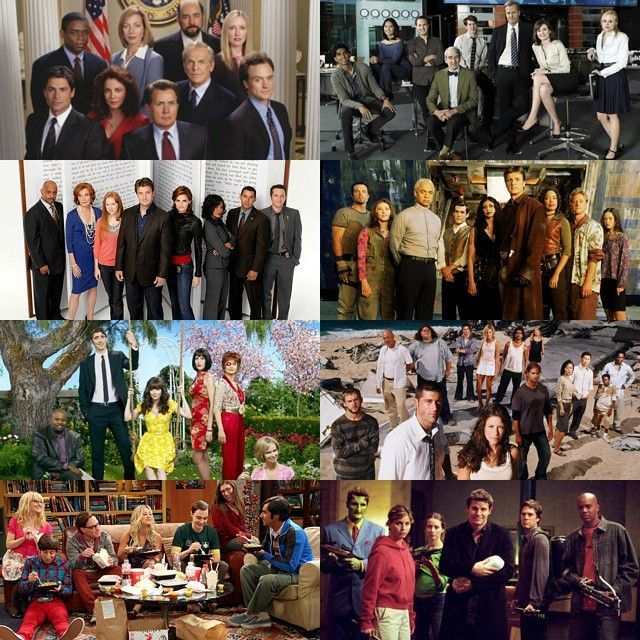 #The30DaysofChannelSurfing Day 28: Favorite Ensemble -So many to chose from! #TheWestWing #TheNewsroom #Castle #Firefly #PushingDaisies #LOST #TheBigBangTheory #Angel