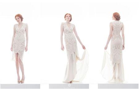 Bálint Sára kollekció I Tervezői menyasszonyi ruhák a The Changeroom-ban I Bohém Esküvő