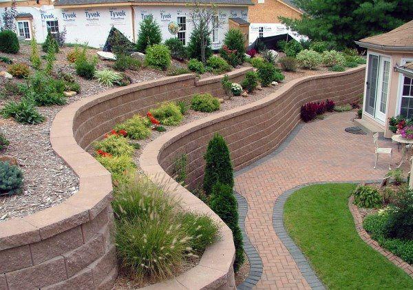 Top 60 Best Retaining Wall Ideas Landscaping Designs Landscaping Retaining Walls Backyard Landscaping Garden Retaining Wall