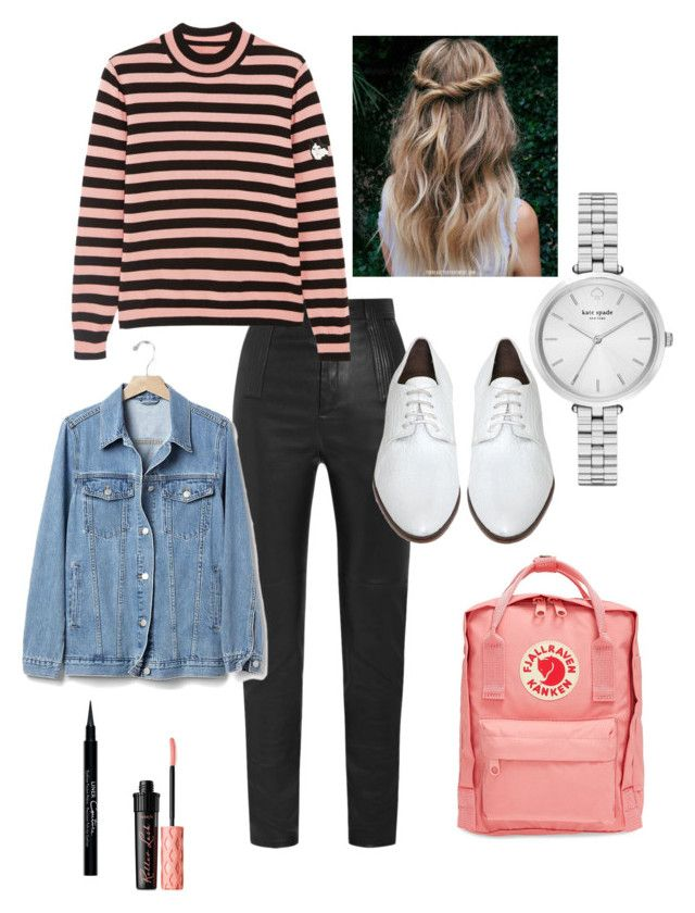 """Untitled #29"" by manjap on Polyvore featuring Givenchy, Shrimps, Rachel Comey, Gap, Benefit, Fjällräven and Kate Spade"
