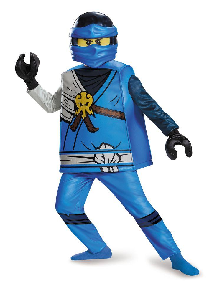 Deluxe Jay Ninjago®- LEGO® kostuum voor kinderen #Lego #Ninjago #NexoKnights #Kerst2016