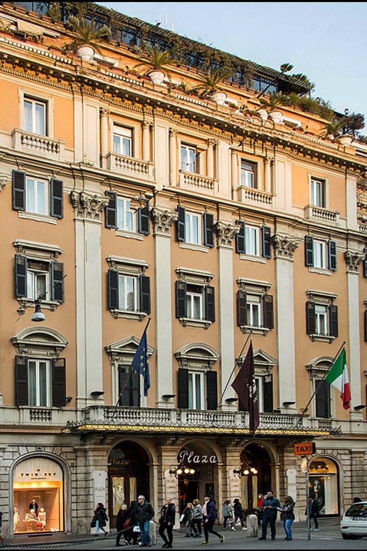 Grand Hotel Plaza - Rome, Italy