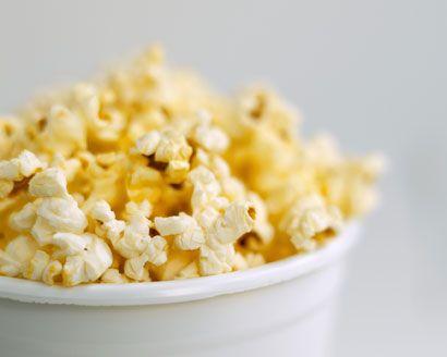 Homemade Organic Popcorn