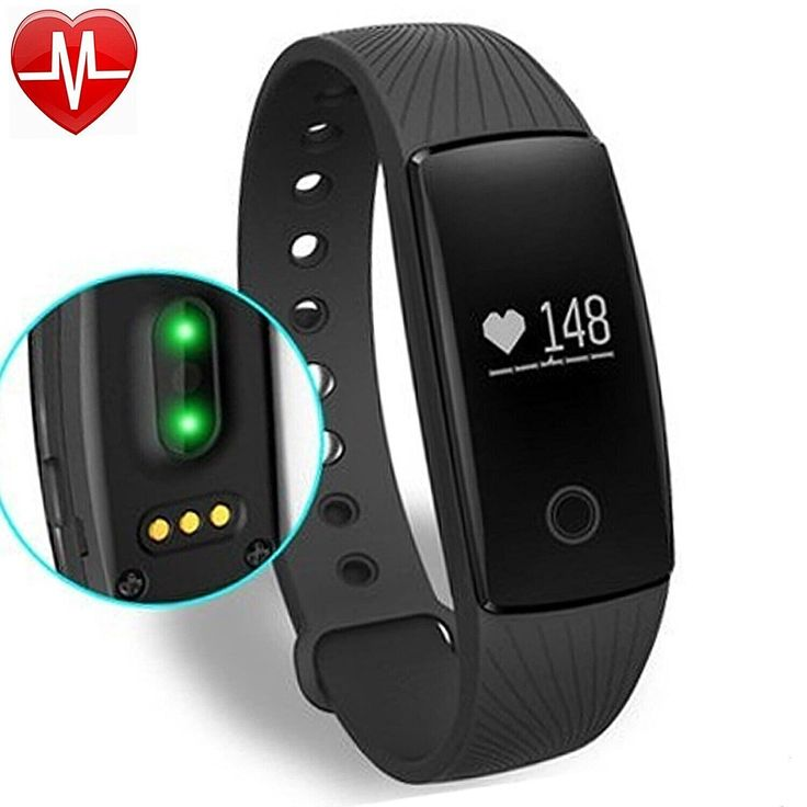 Yamay® Fitness Activity Tracker with Heart Rate Pulse Sport Pedometer Bluetooth Smart Bracelet with Step and Calorie Counter/Sleep Monitor Heart Rate Watch for Walking, Running, Jogging, Compatible with Android Phone iPhone (Refresh): Amazon.de: Sport & Freizeit