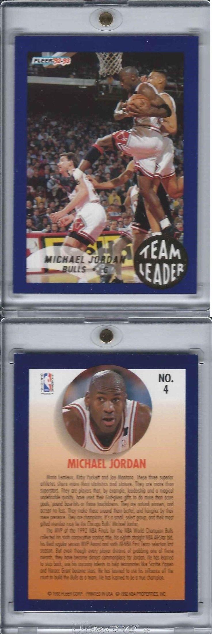 Basketball Cards 214: 1992-93 Fleer Michael Jordan Team Leader Rack Pack Only 90 S Insert Bulls Goat -> BUY IT NOW ONLY: $199.95 on eBay!