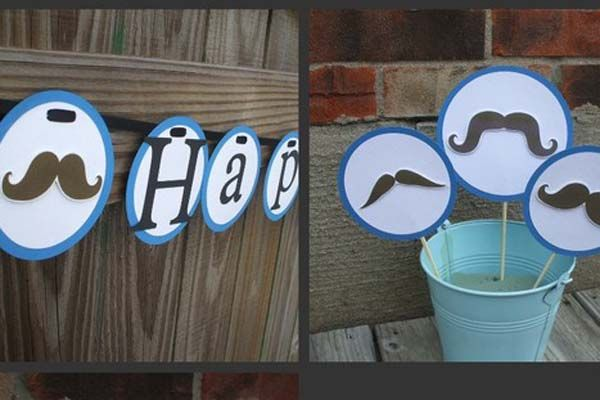 Mustache Theme Party Ideas look at the jug> wet your whiskers