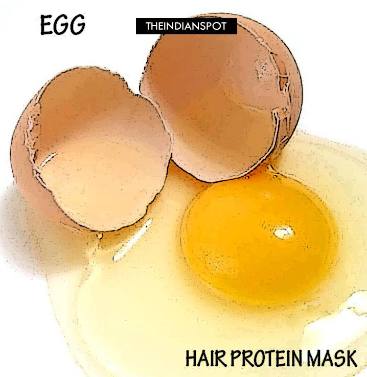 3 - Homemade Protein Hair Mask