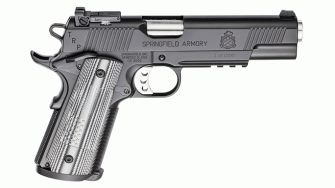 Springfield Armory Legend Series 1911 TRP Pistol left