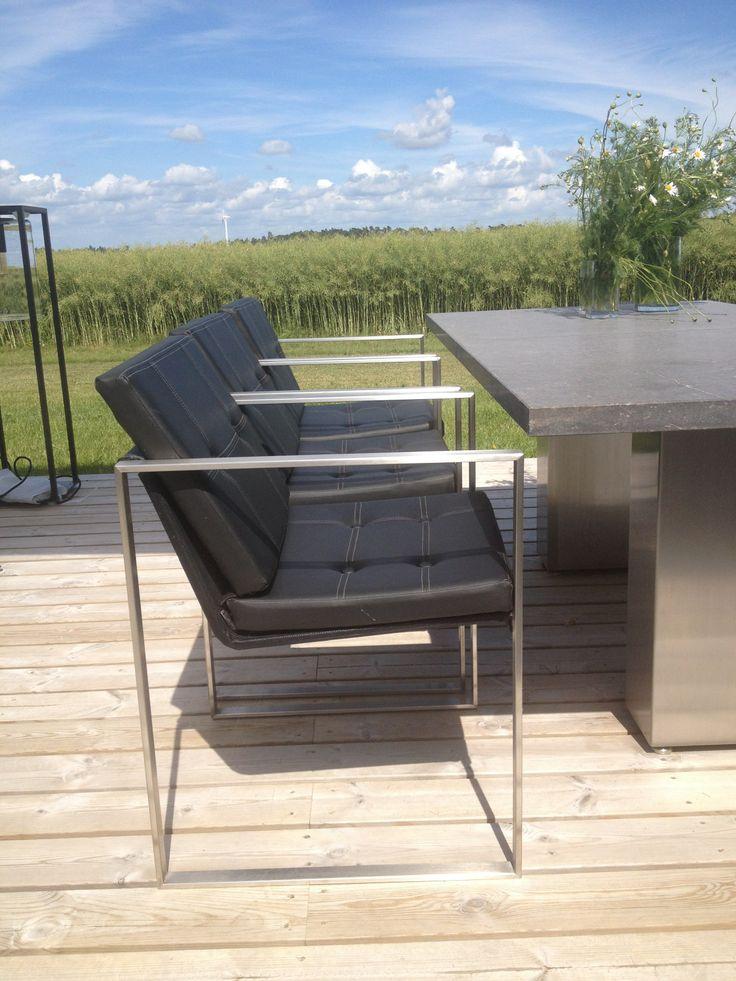 Architectural design, garden chairs, havestole, #garden furniture, #Lifeform.dk