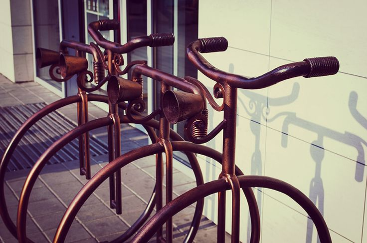 The idea of parking for bicycles.  #street #parking #bicycles #idea #freelancecreative #freelancediscount #freelancer