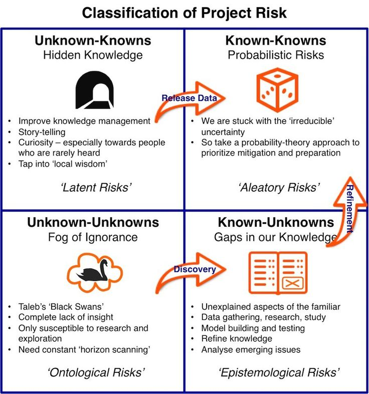 Las 25 mejores ideas sobre Project Risk Management en Pinterest - it risk assessment template