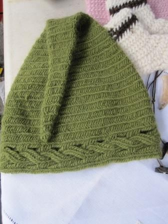 Crochet Kernel Stitch : ... love the look of cables in nalbinding and in slip stitch crochet too
