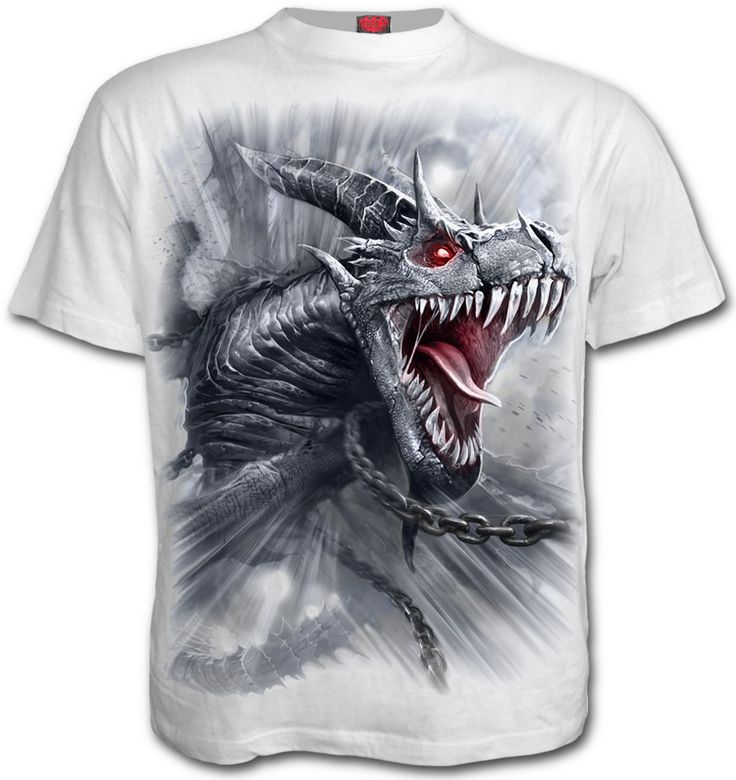 Camiseta Dragon's Cry #dragon #rock #metal #heavy #ropa #xtremonline
