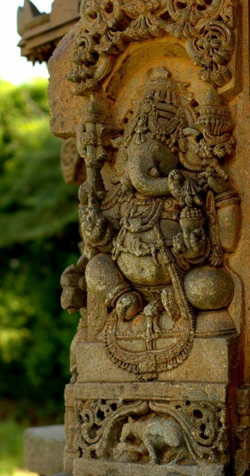 Ganesha, Kedareshwara temple, Nagalapura, Karnataka