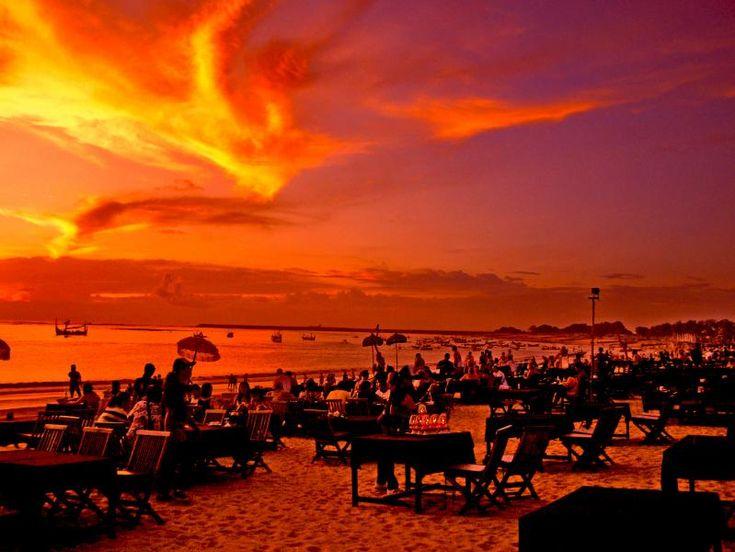 Jimbaran Bay.  Bali, Indonesia. 2008.