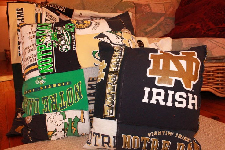 Notre Dame // Quilts made from recycled tee shirts and other material // www.etsy.com/shop/ClosetQuilts