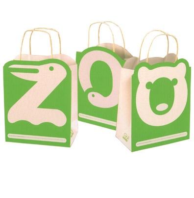 San Francisco Zoo Logo and Packaging