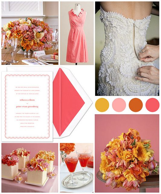 Parrot Tulip Inspired Wedding: Color, Wedding, Photo