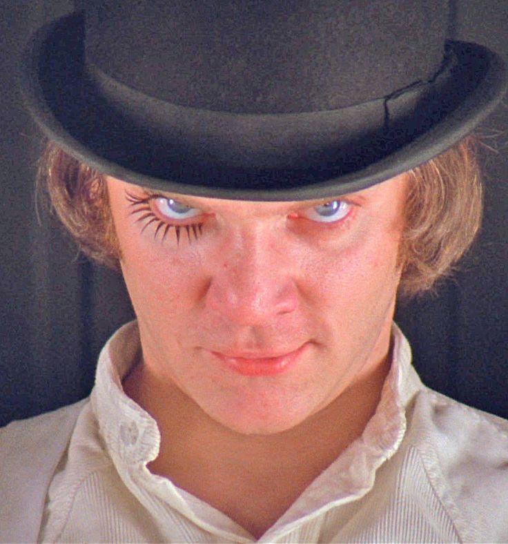 Alex DeLarge (Malcolm McDowell...A Clockwork Orange ... A Clockwork Orange Movie Alex