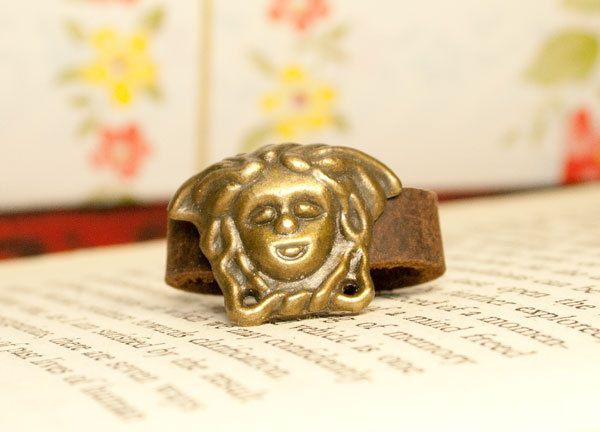 statue brass ring size adjustable