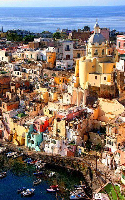 Corricella - Procida Island, Italy