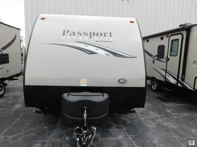 2016 New Keystone Passport 151 ML Travel Trailer in Florida FL.Recreational Vehicle, rv, Come visit Palm RV at 16065 S. Tamiami Trail in Fort Myers Florida 33908, and our Towable Division at 15700 S. Tamiami Trail. Sales, Service & Consignments. We pride ourselves in maintaining a pristine fleet of affordable products. We are committed to serving you with the finest recreational vehicles, Motorhomes, Travel Trailers and Fifth Wheels on the market. We are a family owned and oriented RV…