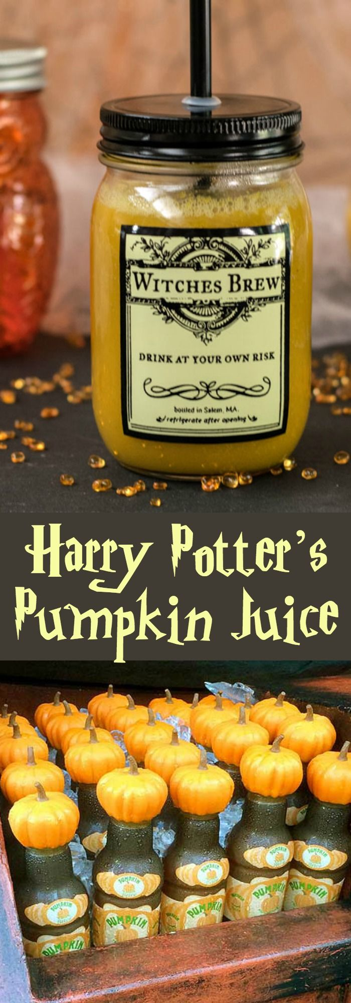 healthy halloween sweet pumpkin juice - Gourmet Halloween Recipes